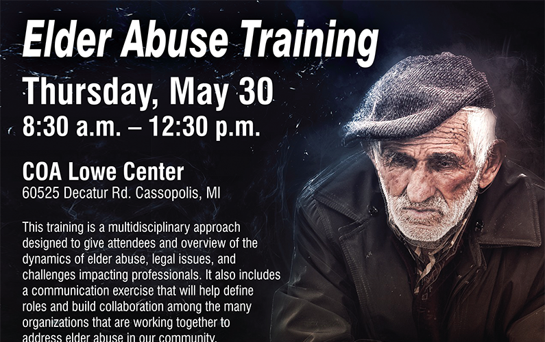 Elder Abuse Training, Cass County Courts, Michigan